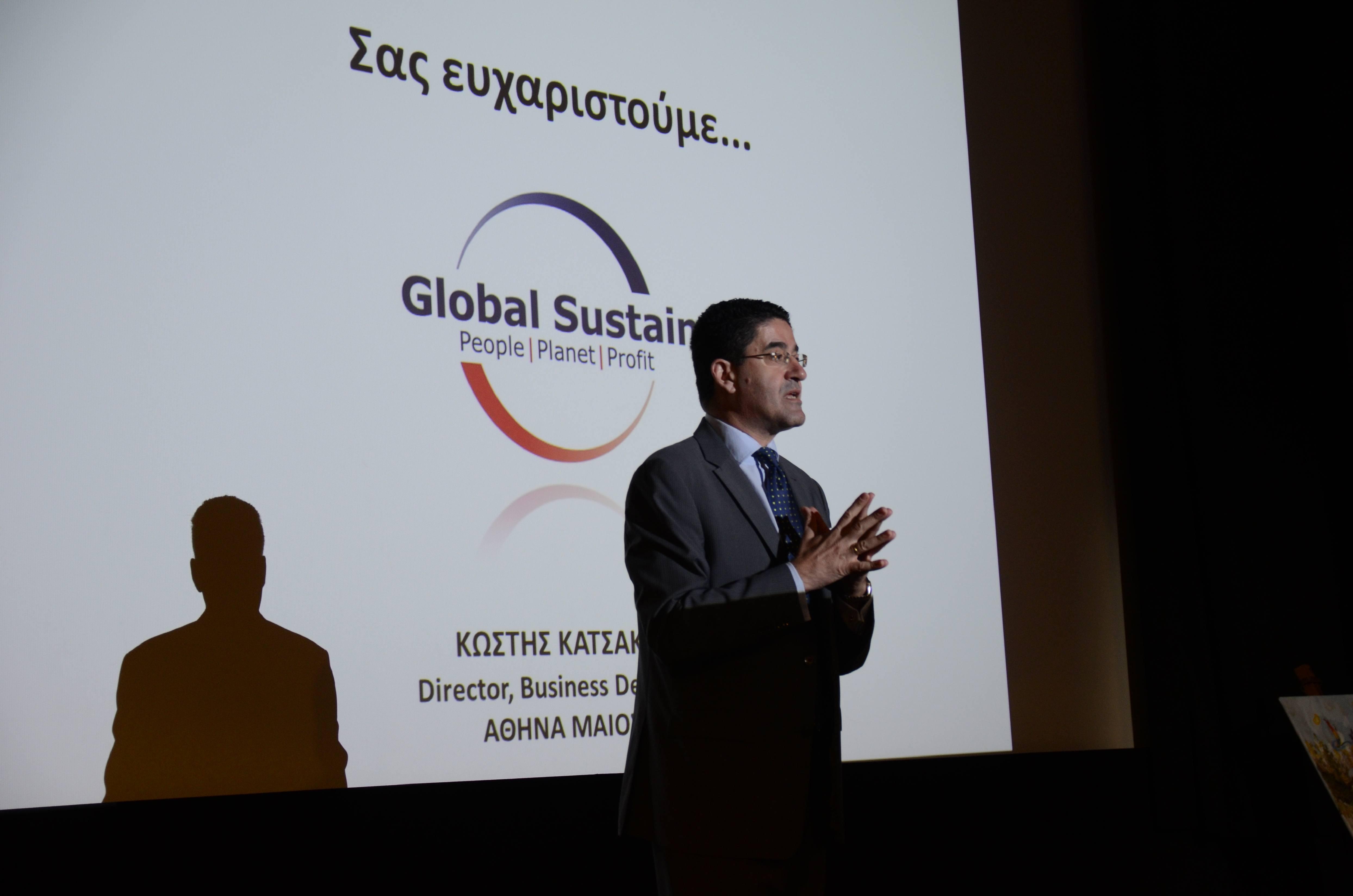 """Ο κος Κωστής Κατσακιώρης, Director - Business Development της Global Sustain - """"Δράσεις στρατηγικής με ξεκάθαρο και μετρήσιμο Κοινωνικό Αντίκτυπο"""""""