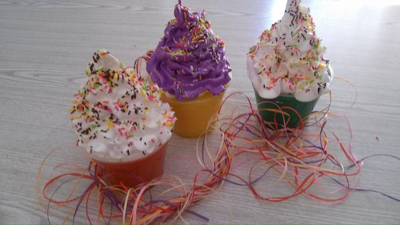 Γιγάντια cup cakes!!!